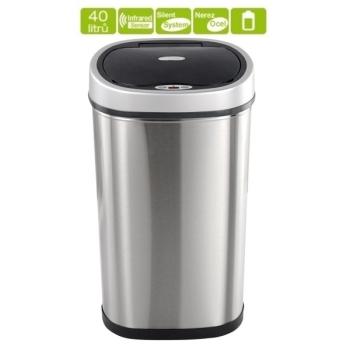 Bezdotykový odpadkový koš Helpmation Oval GYT 40-1