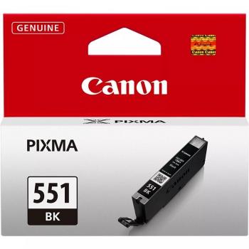 Inkoustová náplň Canon CLI-551Bk, 1105 stran - originální černá