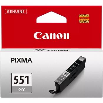 Inkoustová náplň Canon CLI-551 GY, 780 stran - originální šedá