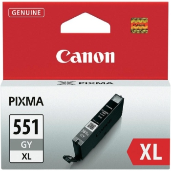 Inkoustová náplň Canon CLI-551XL GY, 3350 stran - originální šedá
