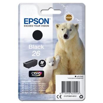Inkoustová náplň Epson T26, 220 stran, černá