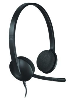 Headset Logitech H340 USB černý