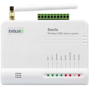 Alarm Evolveo Sonix, bezdrátový, GSM bílé