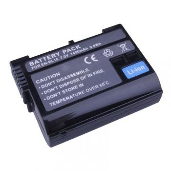 Baterie Avacom Nikon EN-EL15 Li-Ion 7.2V 1400mAh 9.8 Wh