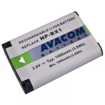 Baterie Avacom Sony NP-BX1 Li-ion 3,6V 1080mAh