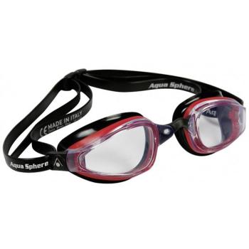 Brýle plavecké pánské Michael Phelps Aqua Sphere K180 clear černé/červené
