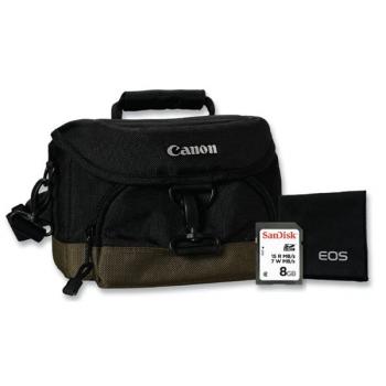 Příslušenství pro fotoaparáty  Canon CAMERA ACC KIT SD 8GB+100EG+LC