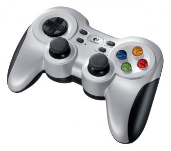Gamepad Logitech F710 Wireless pro PC stříbrný