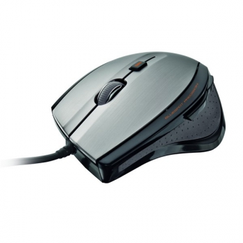 Myš Trust MaxTrack černá/stříbrná (/ optická / 6 tlačítek / 1600dpi)