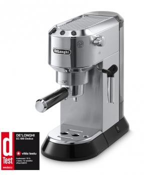 Espresso DeLonghi DEDICA EC680M stříbrné