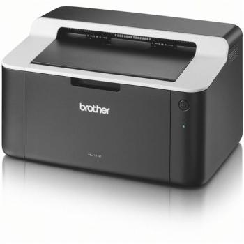Tiskárna laserová Brother HL-1112E černá/šedá (A4, 21str./min, 2400 x 600, 1 MB, USB)