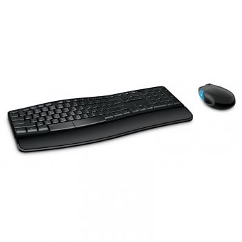 Klávesnice s myší Microsoft Sculpt Comfort, CZ/SK černá