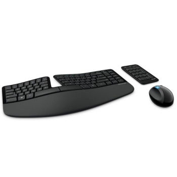Klávesnice s myší Microsoft Sculpt Ergonomic CZ/SK černá