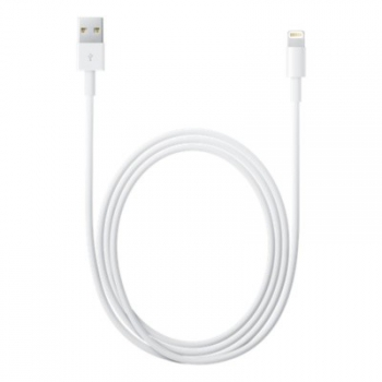 Kabel Apple USB/Lightning, 2m, MFi bílý