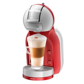 Espresso Krups NESCAFÉ Dolce Gusto Mini Me  KP1205CS šedé/červené + dárek