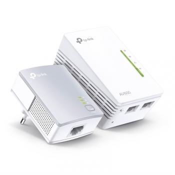 Síťový rozvod LAN po 230V TP-Link TL-WPA4220 KIT + IP TV na 1 měsíc ZDARMA bílý
