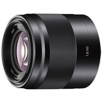 Objektiv Sony E 50 mm f/1.8 OSS černý