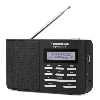 Radiopřijímač s DAB+ Technisat DAB210 černý/stříbrný