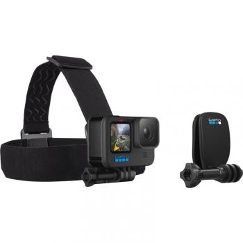 Popruh GoPro Head Strap + QuickClip černý
