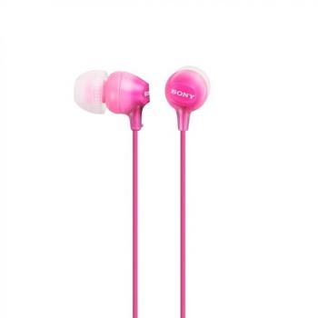 Sluchátka Sony MDREX15LPPI.AE růžová