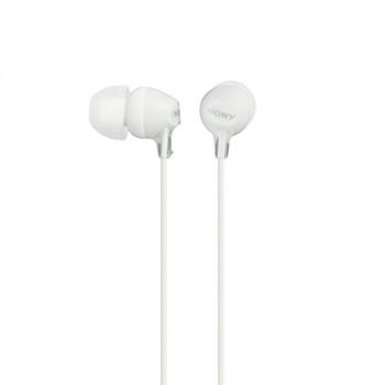 Sluchátka Sony MDREX15LPW.AE bílá