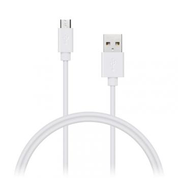 Kabel Connect IT Wirez USB/micro USB, 1m bílý