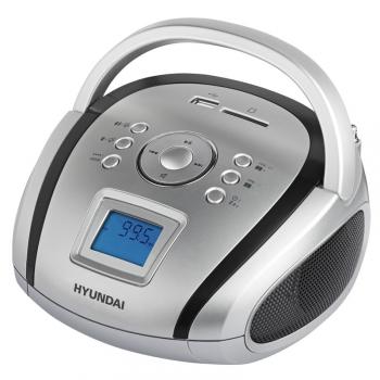 Radiopřijímač Hyundai TR 1088 SU3SB černý/stříbrný