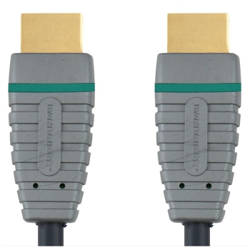 Kabel Bandridge Blue Blue HDMI 1.4, 2m