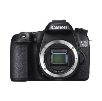 Digitální fotoaparát Canon EOS 70D černý