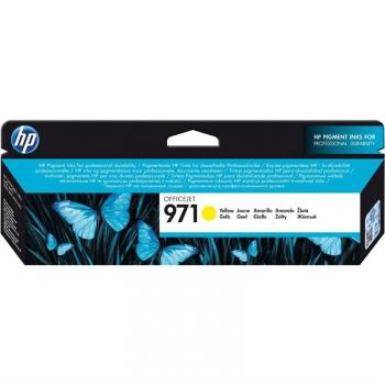 Inkoustová náplň HP 971 - originální žlutá