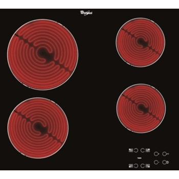 Sklokeramická varná deska Whirlpool AKT 8090/NE     černá/sklo