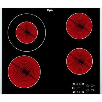 Sklokeramická varná deska Whirlpool AKT 8130/LX černá
