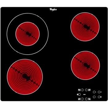 Sklokeramická varná deska Whirlpool AKT 8130/NE černá