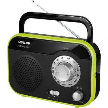 Radiopřijímač Sencor SRD 210 BGN černý/zelený