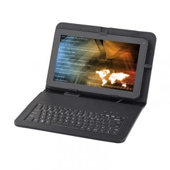 """Pouzdro na tablet s klávesnicí GoGEN univerzal 10,1"""", polohovací černé"""