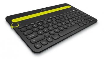 Klávesnice Logitech Bluetooth Keyboard K480 US černá