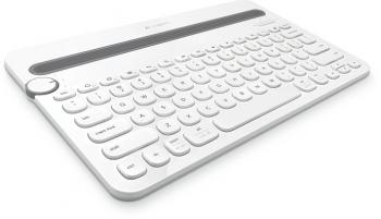 Klávesnice Logitech Bluetooth Keyboard K480 US bílá