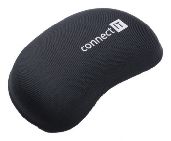 Podložka Connect IT zápěstní před myš černá