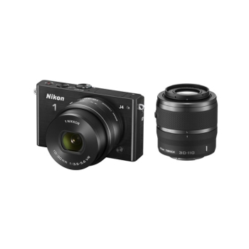 Digitální fotoaparát Nikon 1 J4 + 10-30 VR + 30-110 VR černý