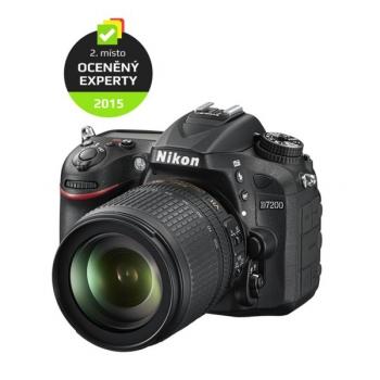 Digitální fotoaparát Nikon D7200 + 18-105 AF-S VR černý
