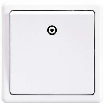 Spínač CLASSIC, jasně bílý 3553-80289 B1