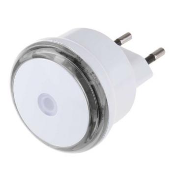 Noční světlo EMOS do zásuvky, 3 x LED s fotosenzorem bílé