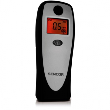 Alkoholtester Sencor SCA BA01 černý/stříbrný