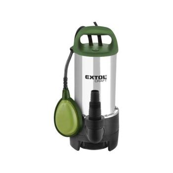 Kalové čerpadlo EXTOL Craft 414163 zelené