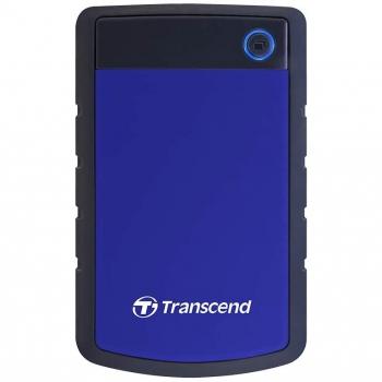 """Externí pevný disk 2,5"""" Transcend StoreJet 25H3B 1TB černý/modrý"""