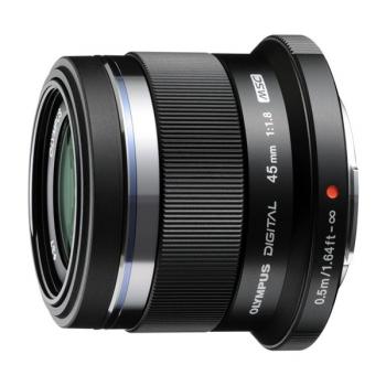 Objektiv Olympus ZUIKO DIGITAL ET-M4518 černý