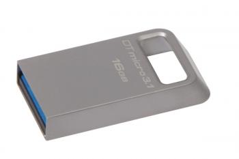 USB Flash Kingston DataTraveler Micro 3.1 16GB kovový
