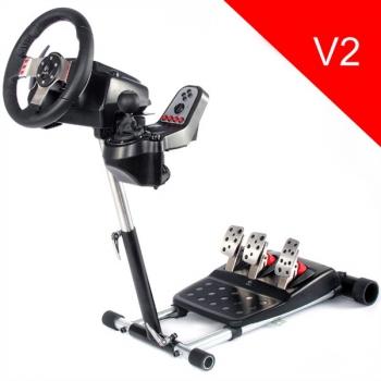 Stojan pro volant Wheel Stand Pro PRO DELUXE V2 černý
