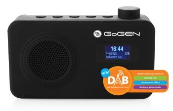 Radiopřijímač s DAB GoGEN DAB 502 černý