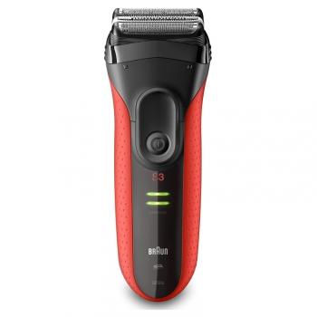 Holicí strojek Braun Series 3 3030s černý/červený
